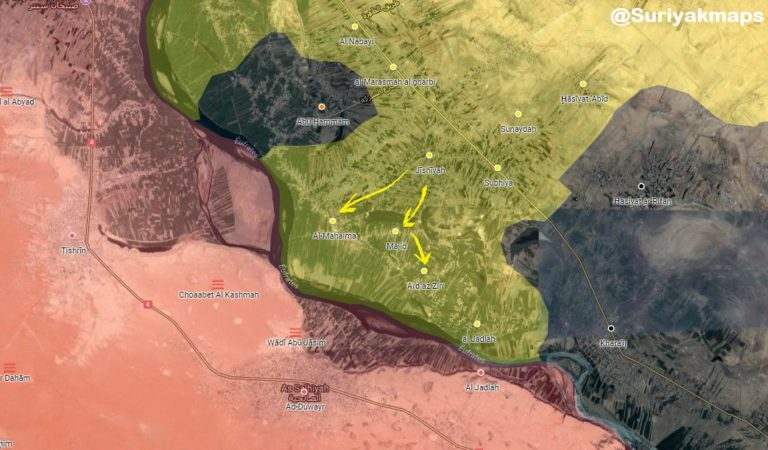 US-backed SDF advances on ISIS positions in Syria's North