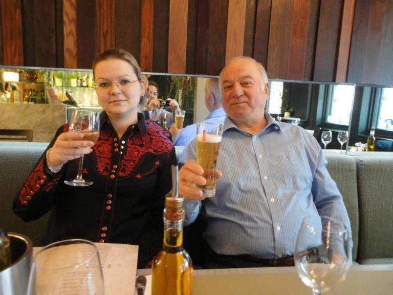 Sergei Skripal leaves hospital for first time since poisoning