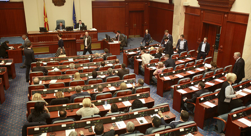 Macedonian parliament passes controversial law on Albanian language