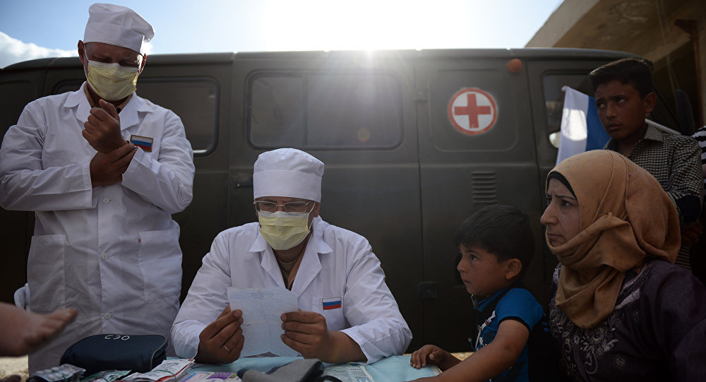 Russian doctors in syria