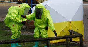 UK Chemical investigation workers