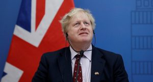 ritish Foreign Secretary Boris Johnson