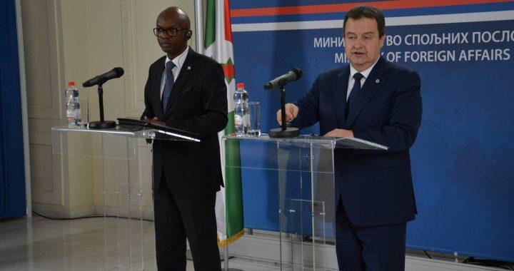 Burundi and Serbian prime ministers