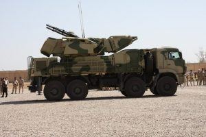 Pantsir 1S/Sa-22 Greyhound