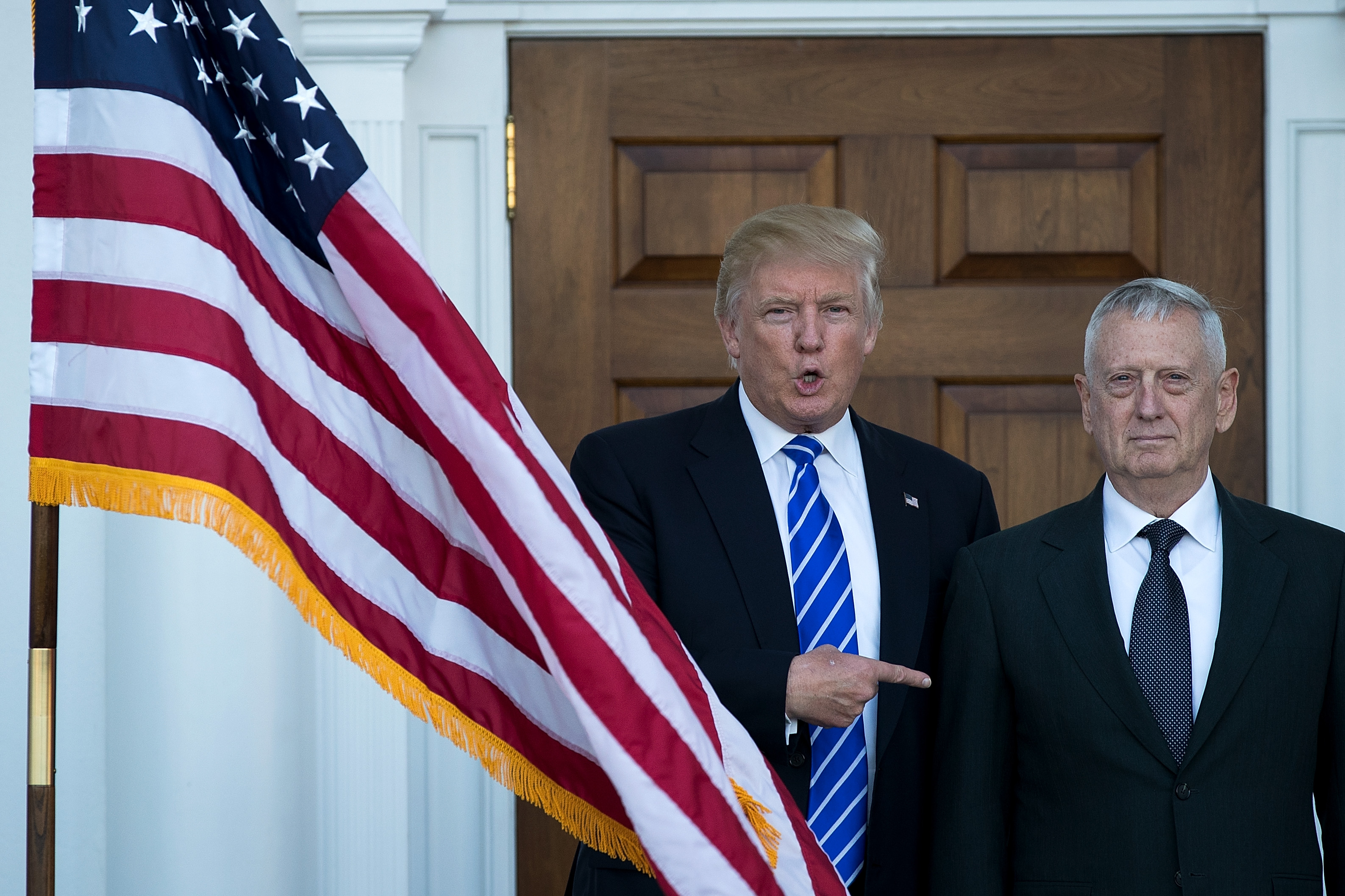 Donald Trump and General mattis
