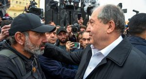 Sargsyan meets with protesters