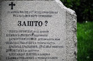 NATO RTS bombign memorial
