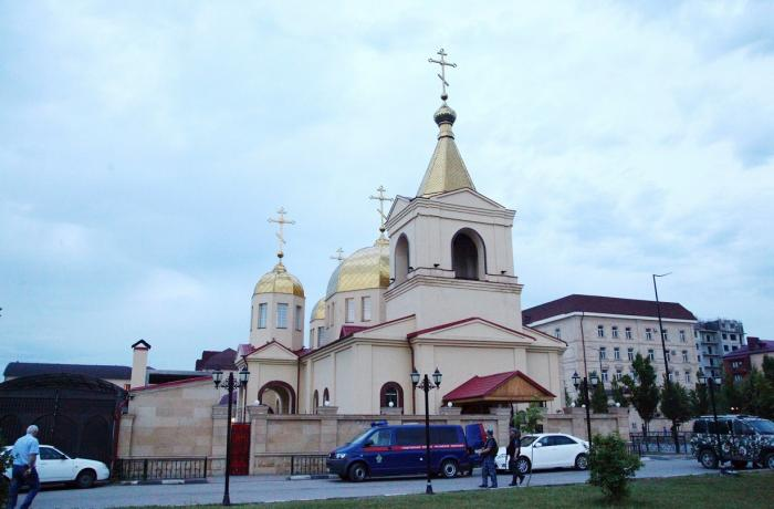 Islamic State claims attack on Grozny Orthodox church