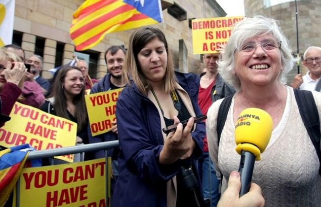 Scotland withdraws arrest warrant for Catalan ex-minister
