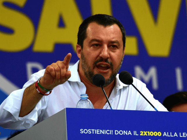 Italy's Matteo Salvini Decries 'Dirty Business Of Illegal Immigration'