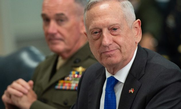 Mattis says US support for coalition 'not unconditional'