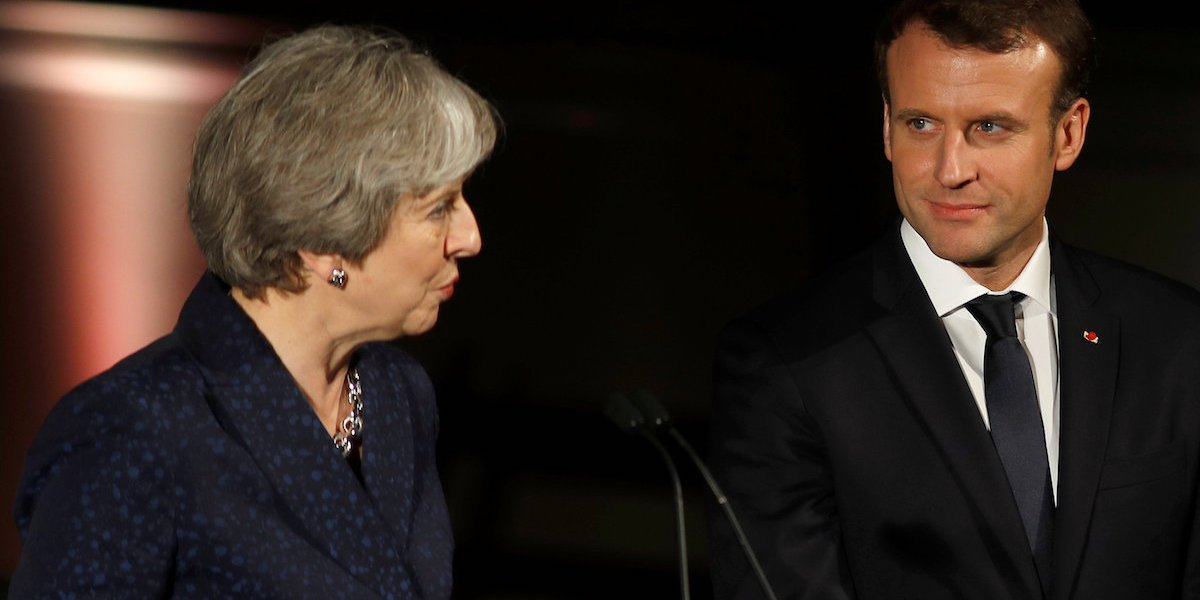 Will Emmanuel Macron help Theresa May save her Brexit deal?