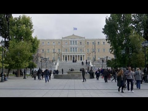 Greeks see no cause for celebration as bailout ends