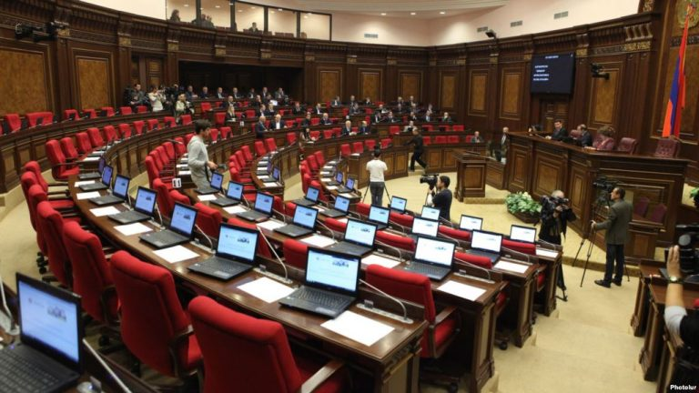"""Armenian government decided to """"infect"""" the parliament with revolutionism"""