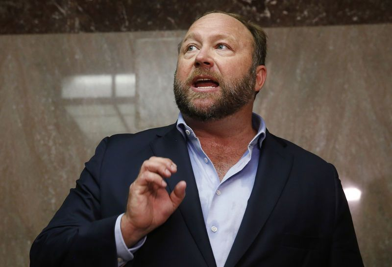 "Apple Inc bans Alex Jones app for ""objectionable content"""