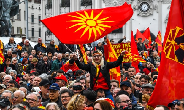 Macedonians prepare to vote on name change