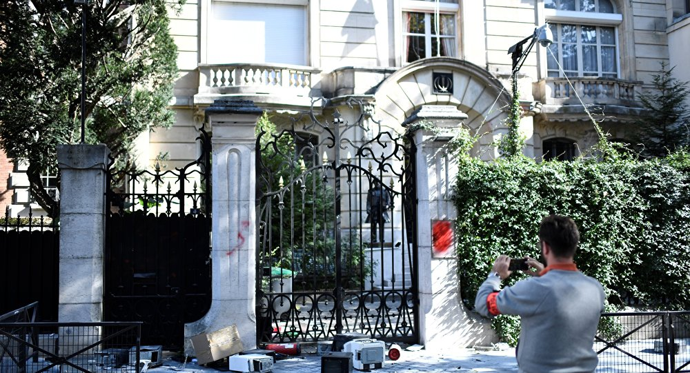 Iran Slams French Police for Slow Response to Kurdish Activists' Embassy Attack