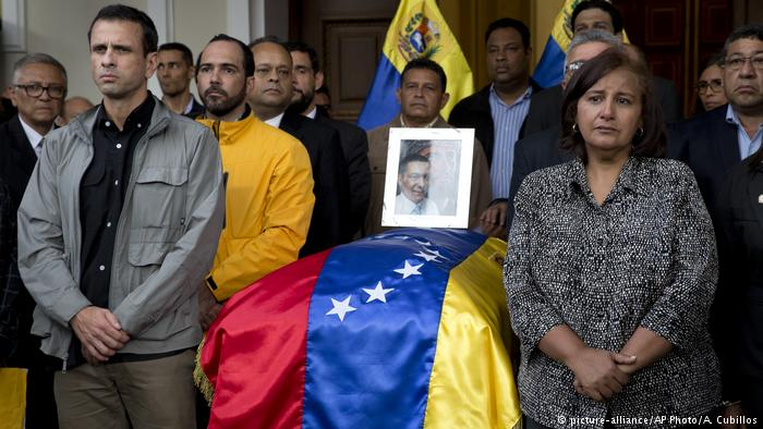 Venezuela: EU, UN call for probe over opposition lawmaker's death