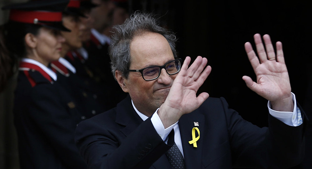Catalan gov't threatens to deprive Spanish PM of support in parliament