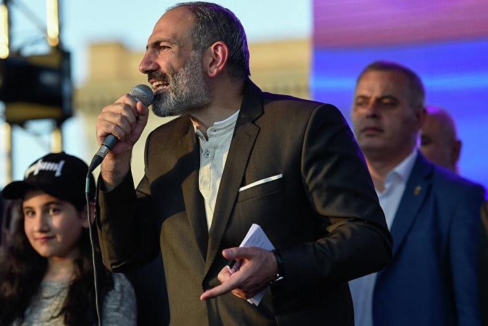 Pashinyan put his post on the line