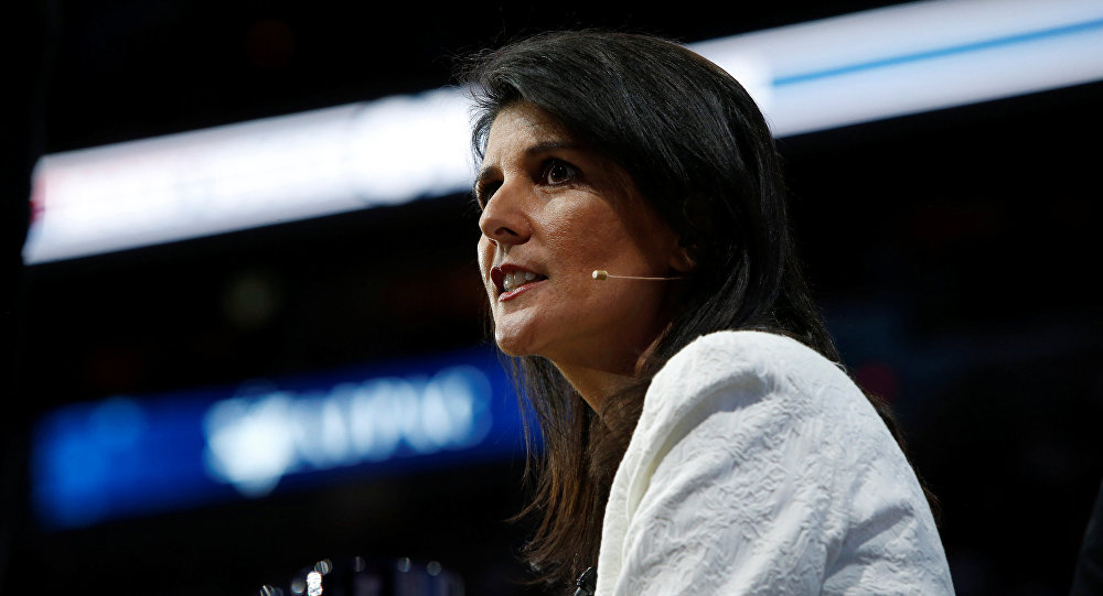 'I Don't Get Confused': Departing US Ambassador to UN Haley Does It Her Way