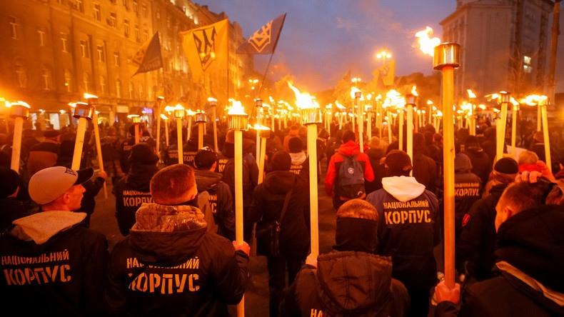 "Ukrainian neo-Nazi battalion ""Azov"" participated in the ""training and radicalization"" of US nationalists"