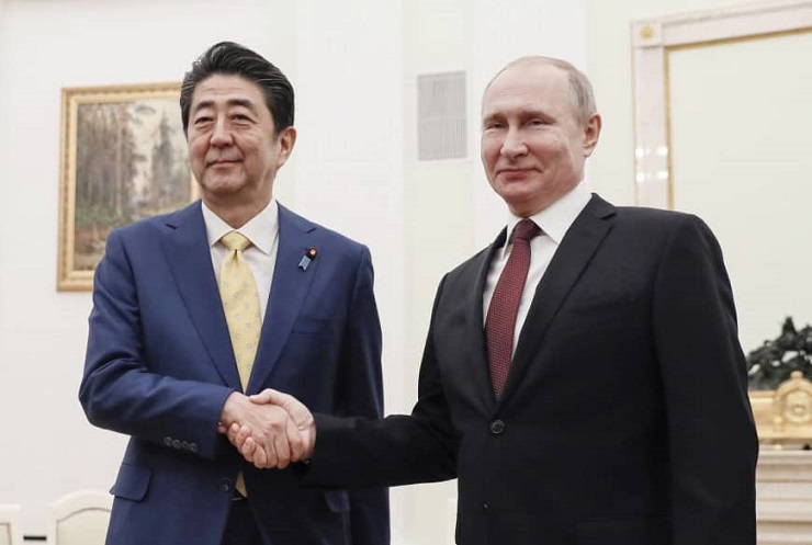 Developments in Japan's Foreign Policy in January 2019