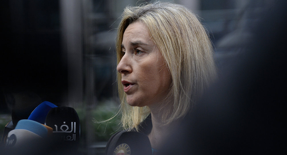 Mogherini Stresses Importance of Russia's Membership in Council of Europe