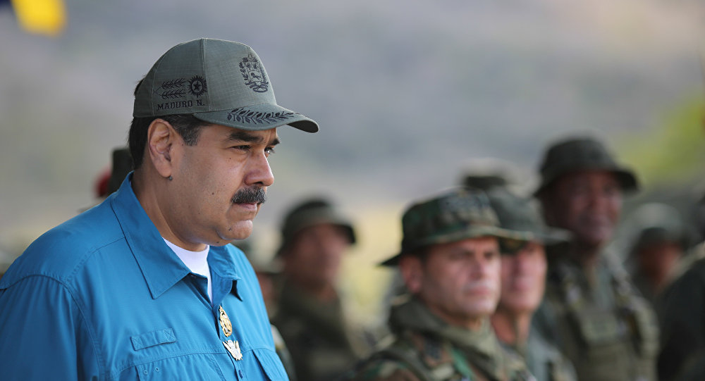 President Maduro Puts Forth Plan for Permanent Mobilisation of Military