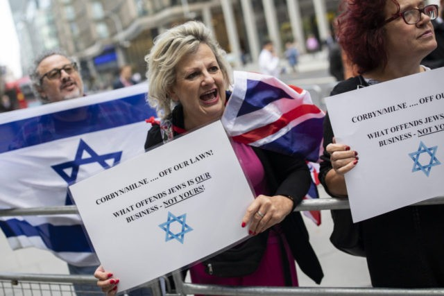 UK Labour Accused as Anti-Semitic Hate Incidents Soar to