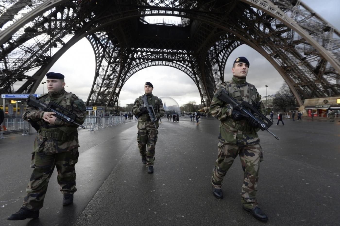 French Military Forces Joined Police In Paris