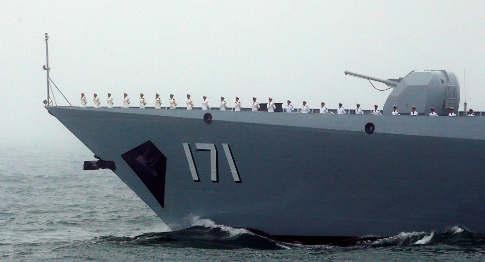 Chinese navy warns off French warship in Taiwan Strait