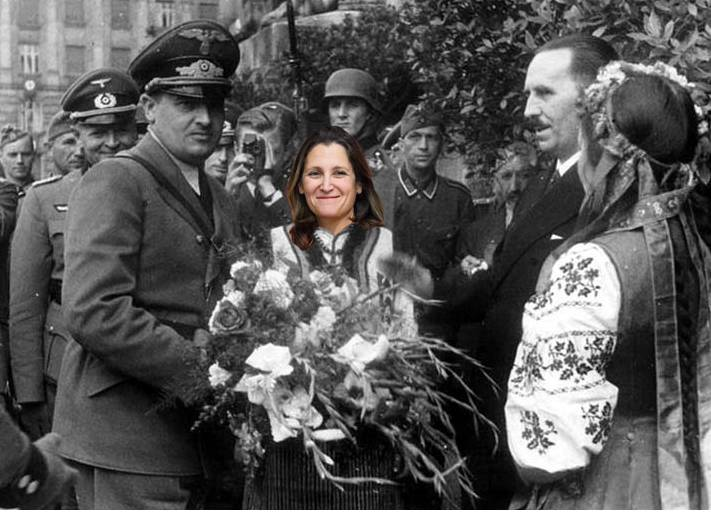 Ukraine's Anti-Globalist Vote Bad News for Canada's Russia Hating Foreign Minister Freeland