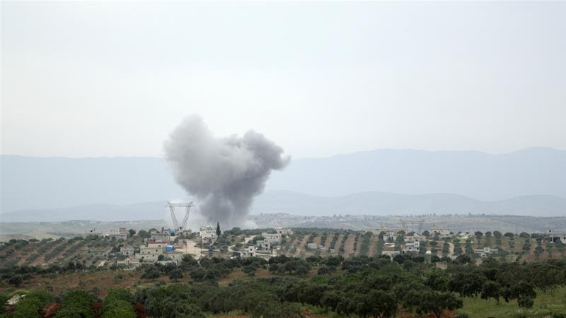 Syrian government captures strategic town from rebels