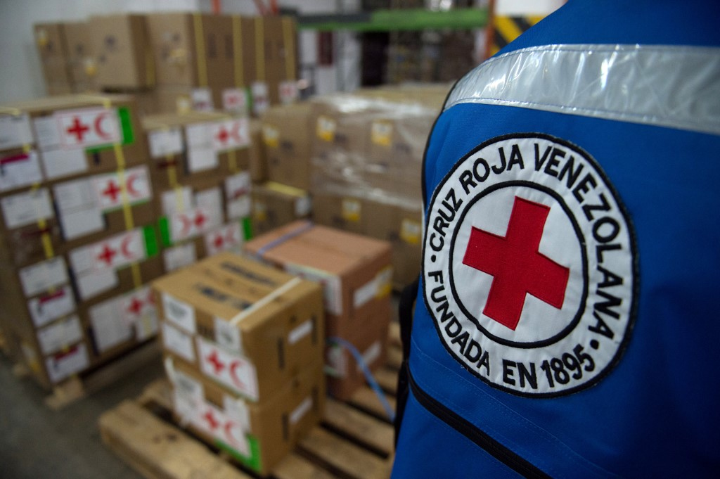 Red Cross delivers 24 tonnes of humanitarian aid to Venezuela