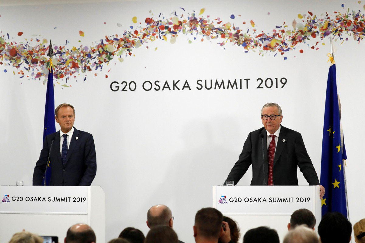 G-20: US, China's trade war is harming global economy