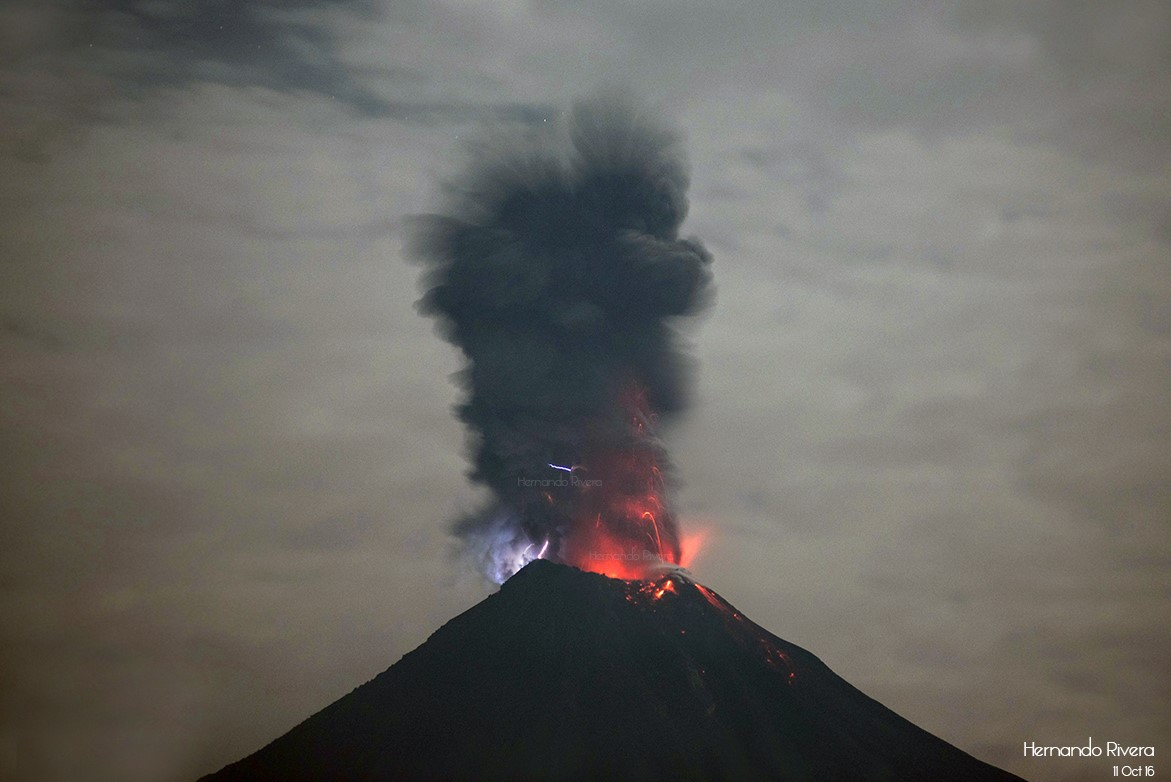 Papua New Guinea's Ulawun Volcano Erupts Spewing 8-Mile-High Column of Ash