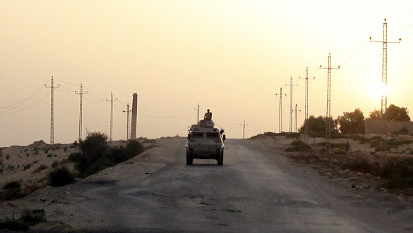 Egypt says seven security personnel killed in Sinai by militants