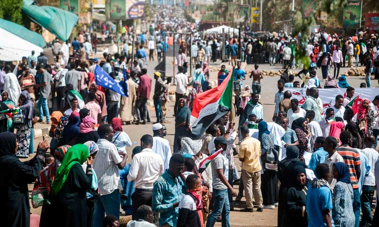 Sudan's protesters take to streets against army rule