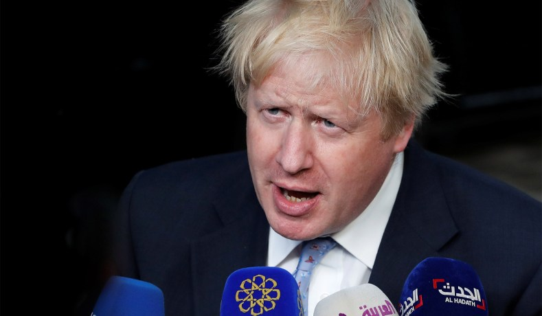 Johnson gets boost in race for PM's job as former rival backs him