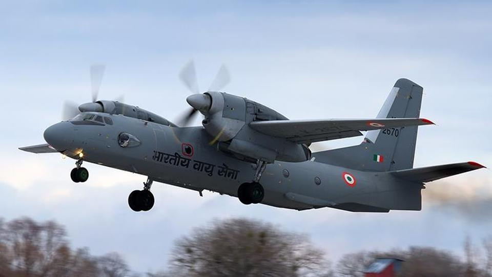 Indian Military Transport Plane Goes Missing Near Chinese Border