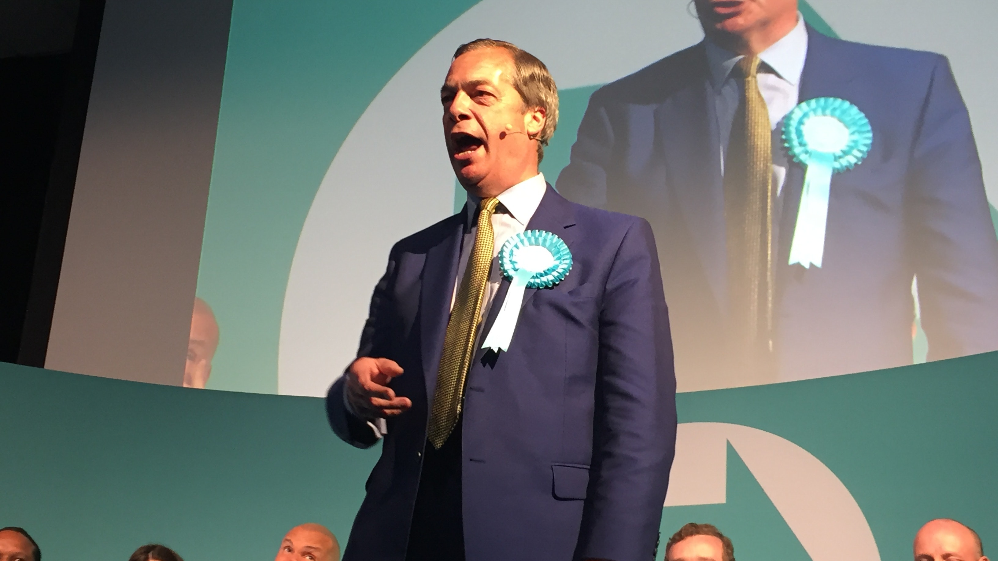 Brexit Party's Nigel Farage Aims for Pact with Tory PM