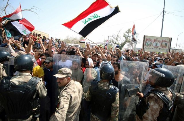Several Protesters Wounded in Clashes With Police in Iraqi City of Basra