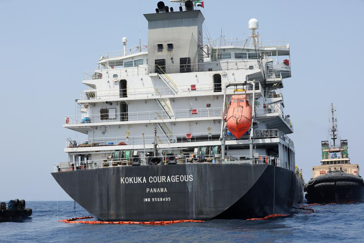 US Navy Claims to Have Found Mine Fragments, Magnet Pointing to Iran in Oil Tankers Attack
