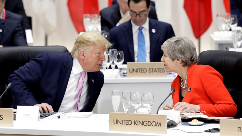 Donald Trump calls UK PM Theresa May foolish and her envoy wacky over leaked memos