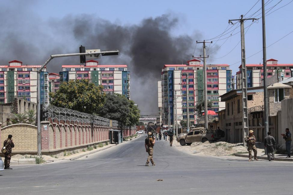 Kabul car bomb blast leaves dozens killed, more than 100 wounded