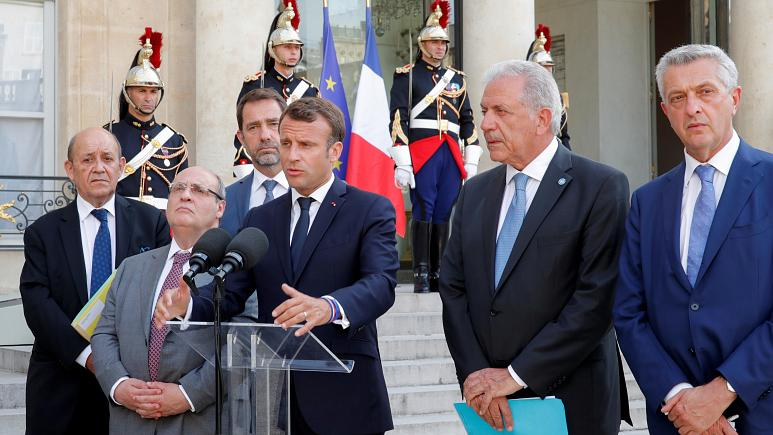 Salvini clashes with Macron after Paris and Berlin offer new migrant influx mechanism
