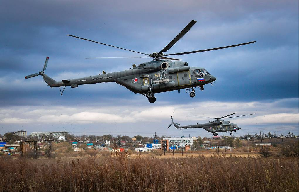 Russian Helicopters Working on World's Heaviest Arctic Helicopter