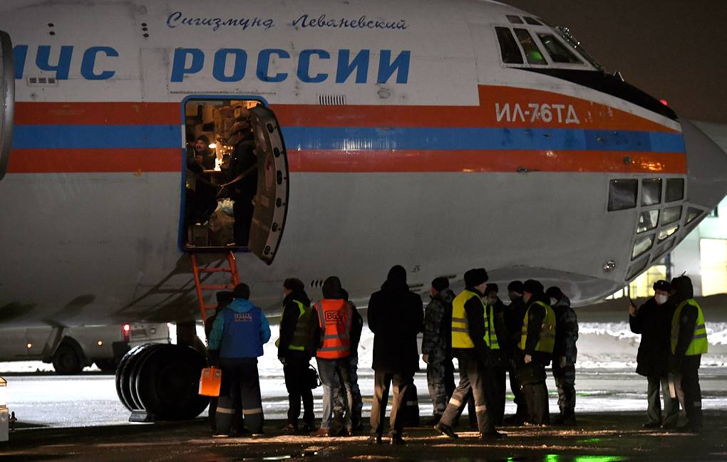 Russian Emergencies Ministry evacuates over 30 children from Iraq