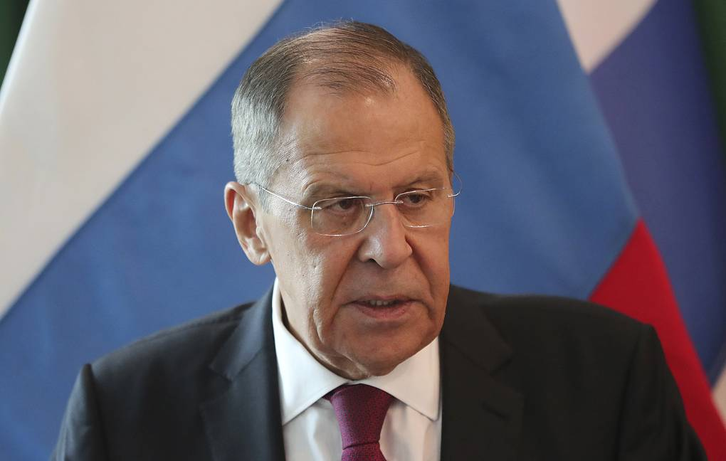 Lavrov meets with New Zealand's top diplomat in Bangkok